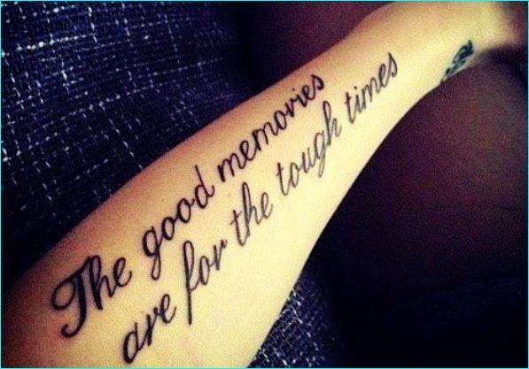 17 Memorial Tattoo Quotes Ideas