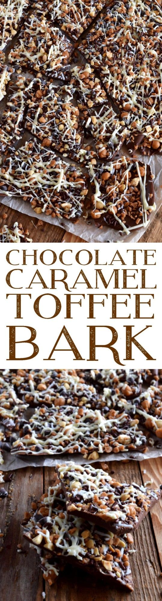 Chocolate Caramel Toffee Bark
