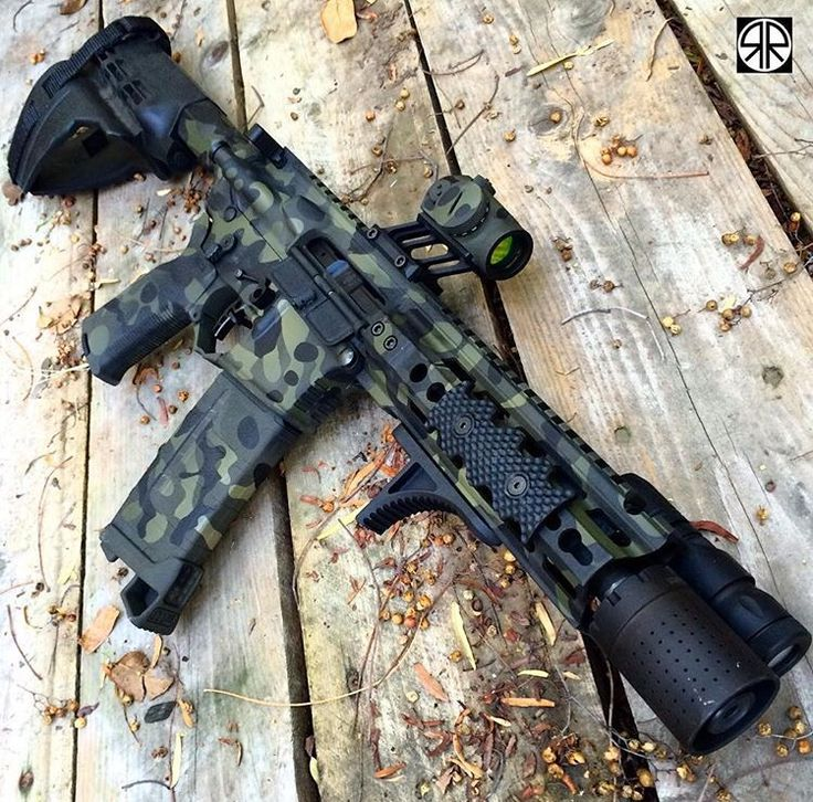 Not a huge fan of that Aimpoint but this is still pretty badass