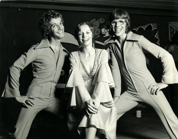 Greg Bepper -Late Night Theatre Revue 1976 with James Steele & Lorna Lesley