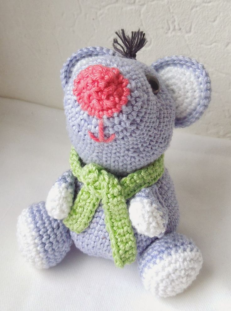 Amigurumi Parrot Pattern Free : 17 Best images about amigurumi mice, squirrels, guinea ...