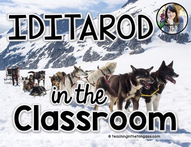 Iditarod Activities And Freebies