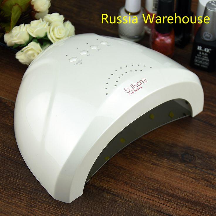 UVLED 48 W Luce UV Nail Dryer SUNone Professionale 48 W LED 365 + 405mm HA CONDOTTO LA Luce Della Lampada UV Nail Dryer