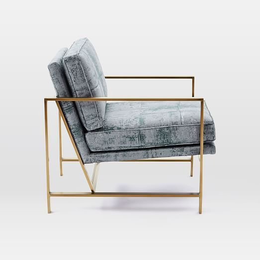 Glamorous and exciting chair inspiration. See more mid-century pieces at http://essentialhome.eu/