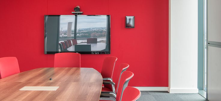 Acoustic FabricWall Solution, VideoConferencing UCi2i