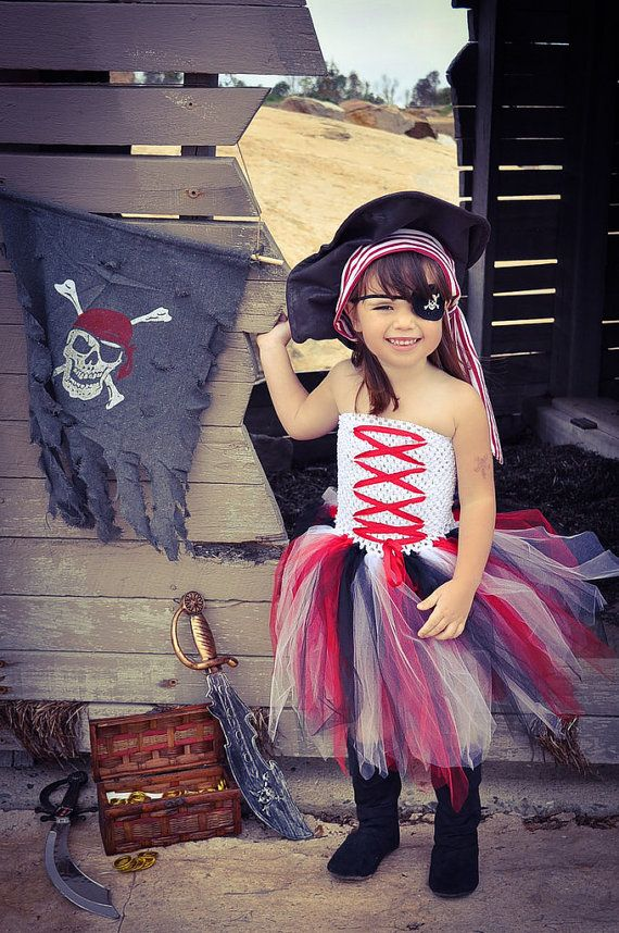 Newborn - Size 12 Pirate Princess Tutu Dress