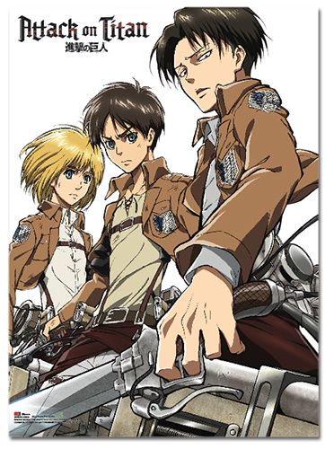 Static Fluff Anime Bring You This Awesome Attack On Titan Fabric Poster Check Us