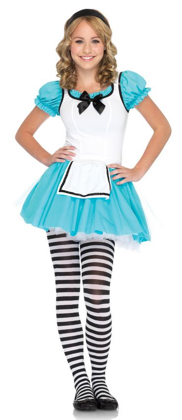 Teen Leg Avenue Enchanted Alice Costume - Candy Apple Costumes - Alice in Wonderland Costumes