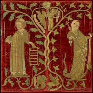Dumbarton Oaks | Opus Anglicanum Embroidery English, Gothic ca. 1320-1340