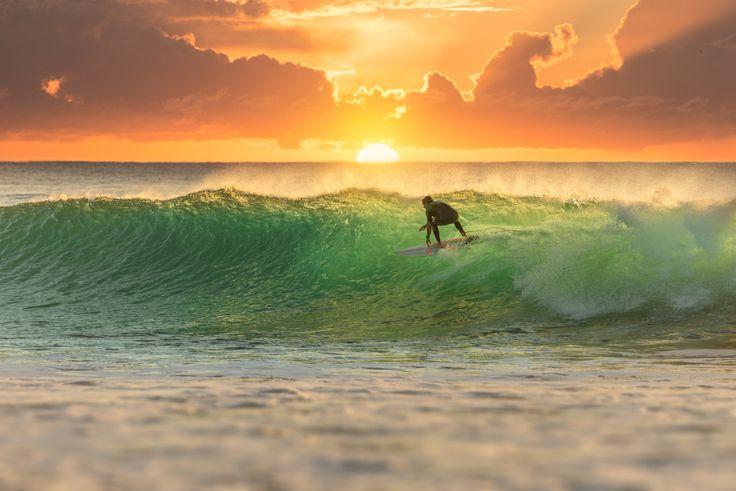 Surfing in Pichilemu, Chile