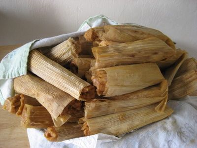 Authentic Chicken Mexican Tamales-I need to make these for Christmas morning breakfast!