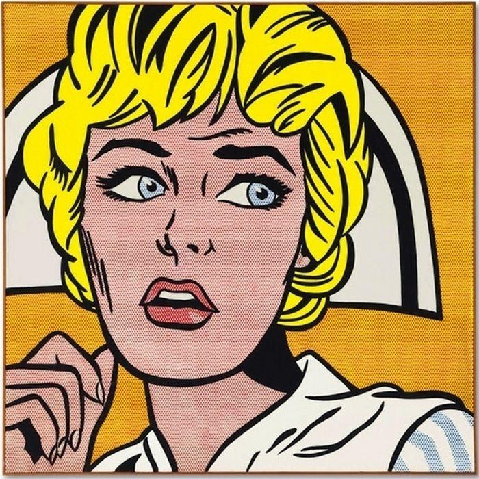 «Медсестра», Рой Лихтенштейн продана на торгах в 2015 году за $95 365 000