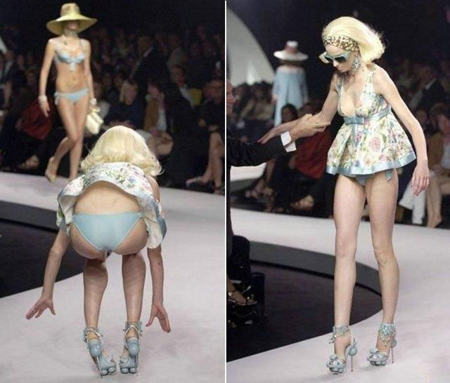 Fashion Show Fail Funny Top Models Funny Fails In