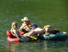 Float the river with Leavenworth Outdoor Center tube & paddle boards rentals