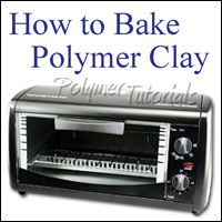 Tutorial about baking polymer clay items