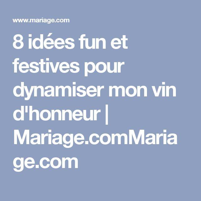 8 ides fun et festives pour dynamiser mon vin dhonneur mariagecommariage - Dj Mariage Amiens