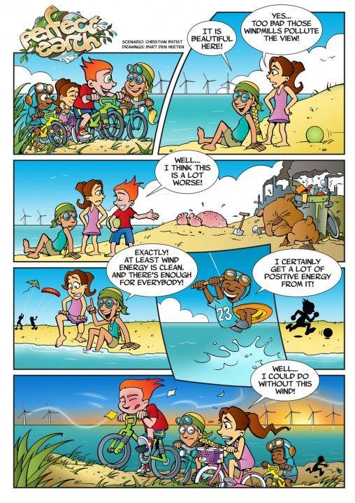 Perfect Earth Comic - Wind Energy