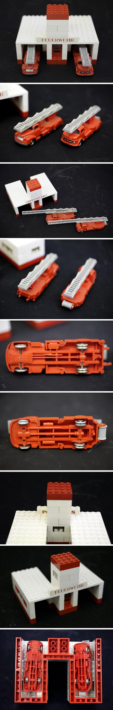 LEGO VINTAGE Fire Trucks & Station NOW FOR SALE ON EBAY.DE