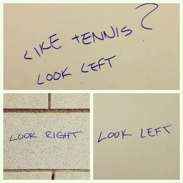 Best Bathroom Graffiti Images On Pinterest Bathroom Graffiti - 22 hilarious bathroom stall messages that will leave you laughing