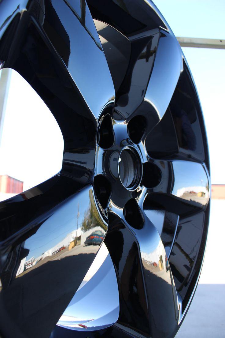 "Super Durable Wet Black 20"" Dodge Rim Edmonton Powder"