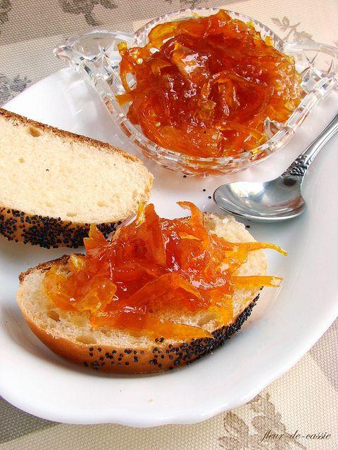 конфитюр апельсиновый с цедрой