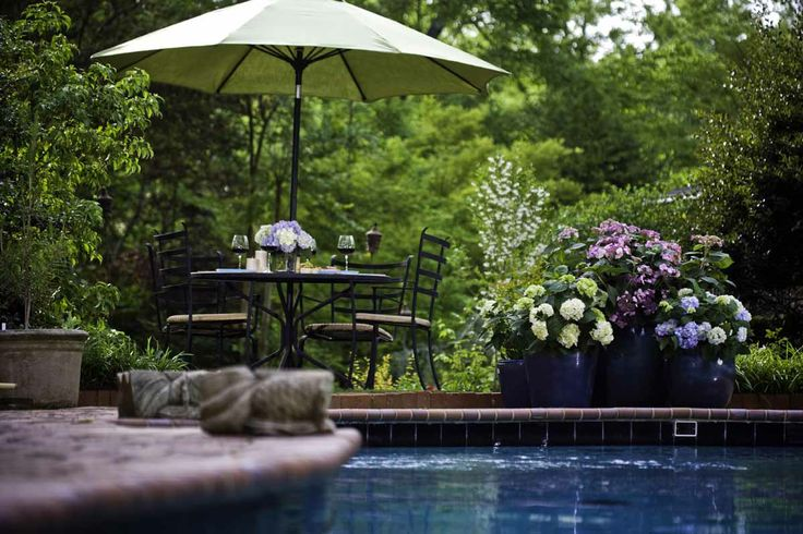42 best images about awesome backyard gardens on pinterest for Gardens around pools