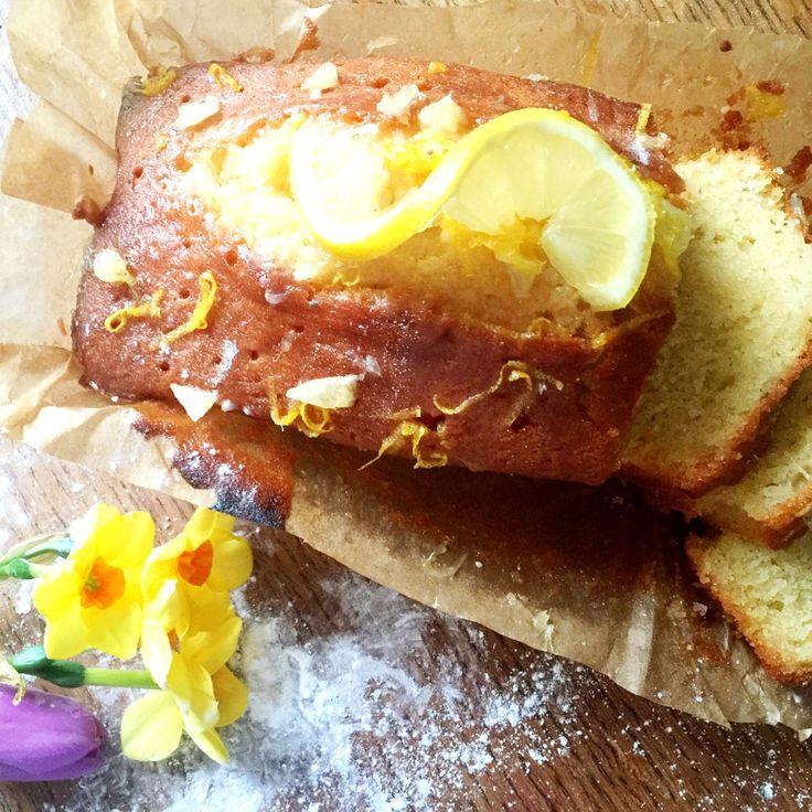 Lemony Lemon Pound Cake Recipe