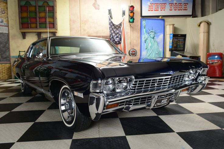 1968 Chevrolet Caprice Matching Numbers Oldtimer for sale-EN