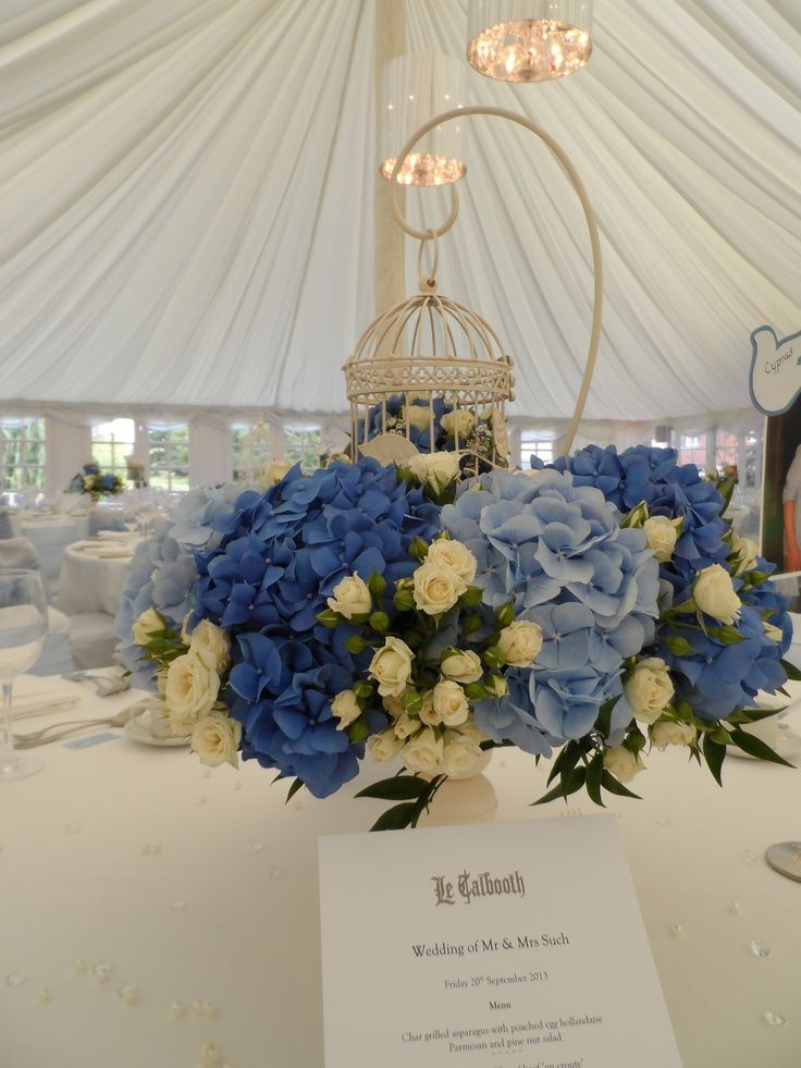 The Vintage Blues looked stunning at Le Talbooth by T.J. Designer Studio