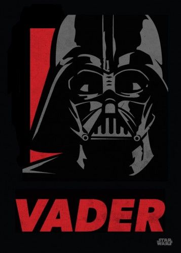 Star Wars Darth Vader metal poster - PosterPlate posters made out of metal