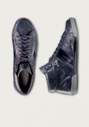 Santoni Shoes Gloria B Baby Calfskin Sneakers