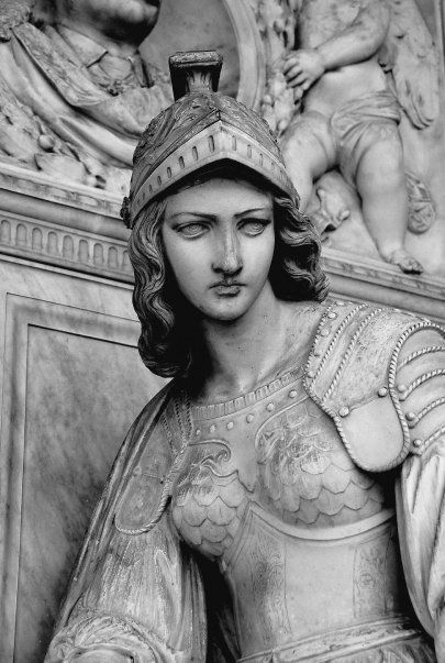 Athena (beautiful sculpture but still the bitch of the bronze house!)