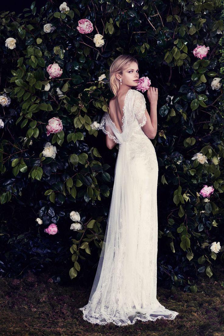 "Jenny Packham 2016 Campaign The ""Venetia"" Dress. Available at Sam Cox Bridalwear, 01752 228451."