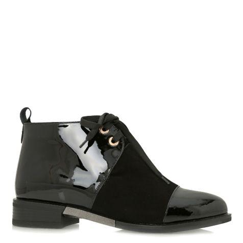 Фото – Ботинки зимние на низком ходу 011863, цвет черный