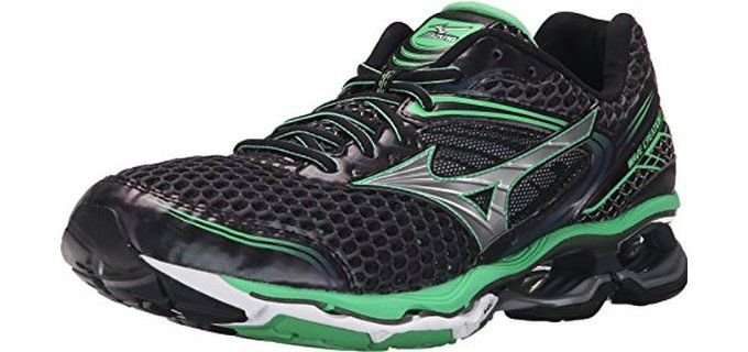 Mizuno Men's Wave Creation 17 Running Shoes for Fat Runners