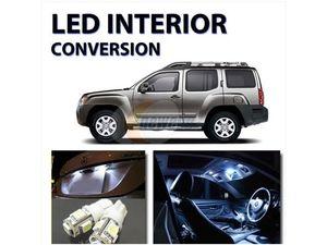 Bright WHITE 8pc LED Interior Lights Package kit for Nissan Xterra ...