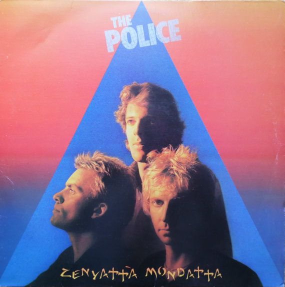 The POLICE Zenyatta Mondatta 1980 Uk Issue Lp 33 Album Vinyl Record Music Sting Near Mint Pop Rock New Wave Reggae 80s amlh64831 Free s&h
