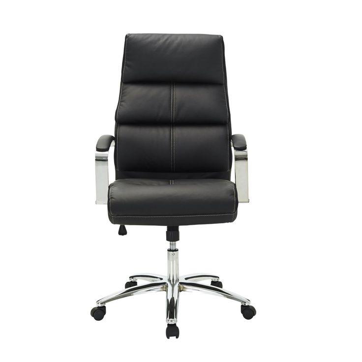 Harvard Chair Black | Officeworks