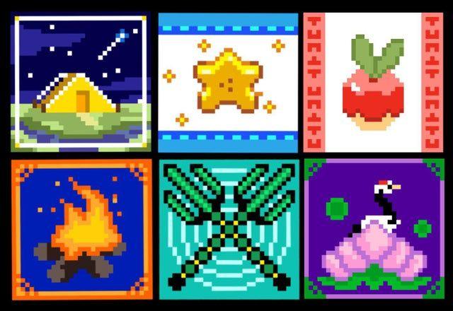 animal crossing new leaf flag designs