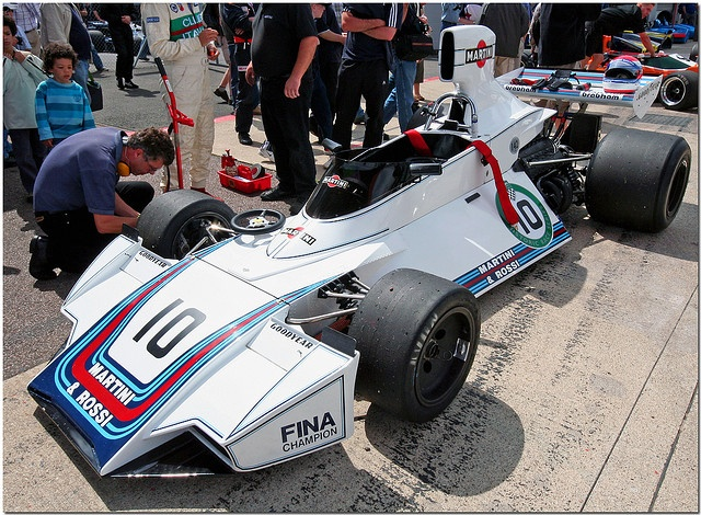 1975 Martini Brabham Ford BT44 F1. Silverstone Classic 2007.(Explore) by Antsphoto, via Flickr