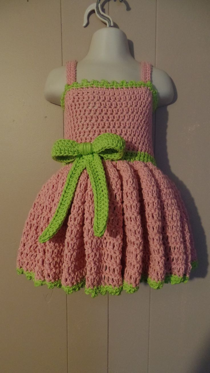#Crochet 18-24 months Girls Special Occasion Dress #TUTORIAL