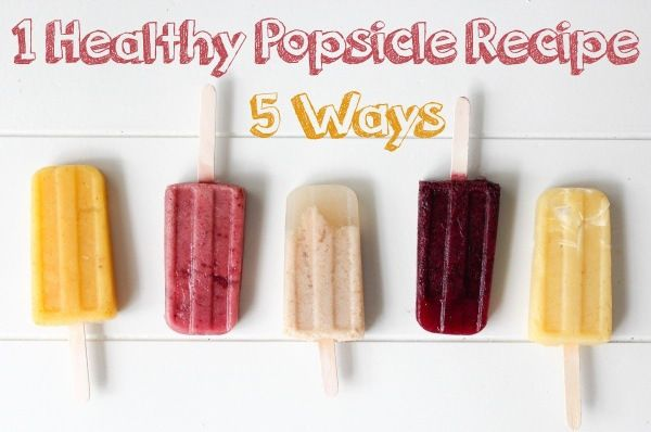 Nutrition Stripped for Relish Magazine | 1 Healthy Popsicle Recipe 5 Ways