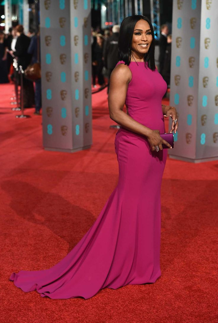 Angela Bassett in custom Galia Lahav. Photo: Ian Gavan/Getty Images.