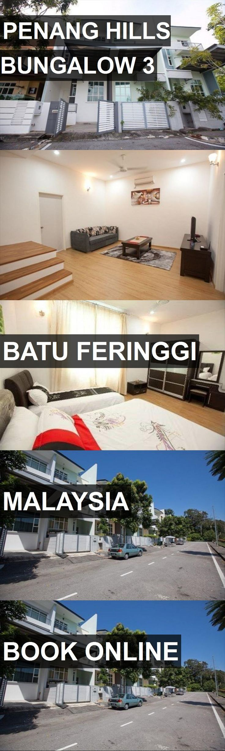 Hotel PENANG HILLS BUNGALOW 3 in Batu Feringgi, Malaysia. For more information, photos, reviews and best prices please follow the link. #Malaysia #BatuFeringgi #travel #vacation #hotel