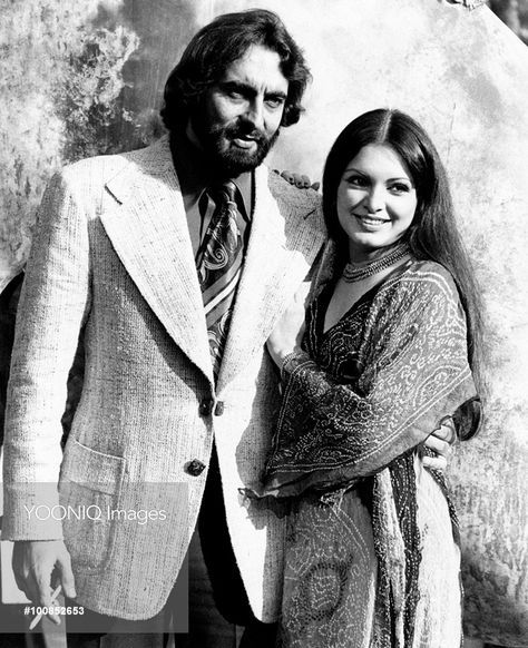 beautifiedthisworld: Kabir Bedi and Parveen Babi.