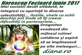 Horoscopul Fecioarei din luna iunie 2017 pune accentul pe beneficiile şi satisfacţiile extrase din legăturile de prietenie, pe învigorarea î...