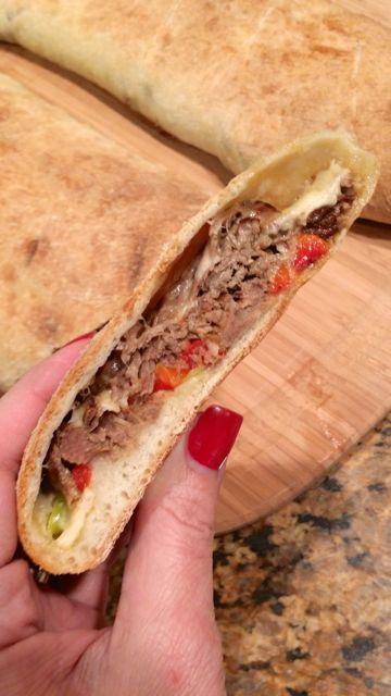 Jeff Mauro's Italian Beef Stromboli