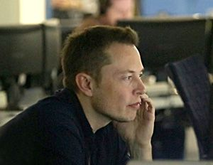 "Elon_Musk_in_Mission_Control_at_SpaceX. Details in ""Elon Musk, The Man Behind Tesla-SpaceX-SolarCity, Also Believes In Solar Future!"" of sunisthefuture.net March 19, 2013 post (just click on the image twice to get to the post & video)"