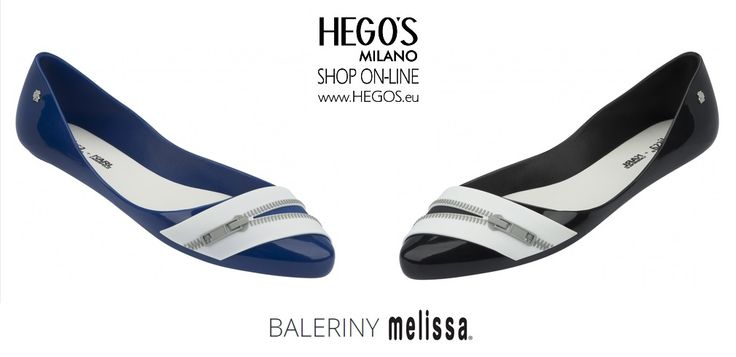 MELISSA TRIPPY + KARL LAGERFELD The only flat shoe style in the Melissa + Karl Lagerfeld collection has a fun zipper detail, highlighting the women femininity. A must-have for Karl Lagerfeld and Melissa fans. Autumn/Winter 15/16 Collection HEGO'S