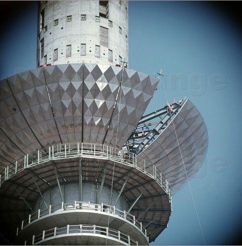 Berlin Fernsehturm 1968